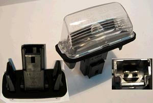 Lampka Oswietlenia Tablicy Rejestracyjnej Peugeot 206 207 307 406 407